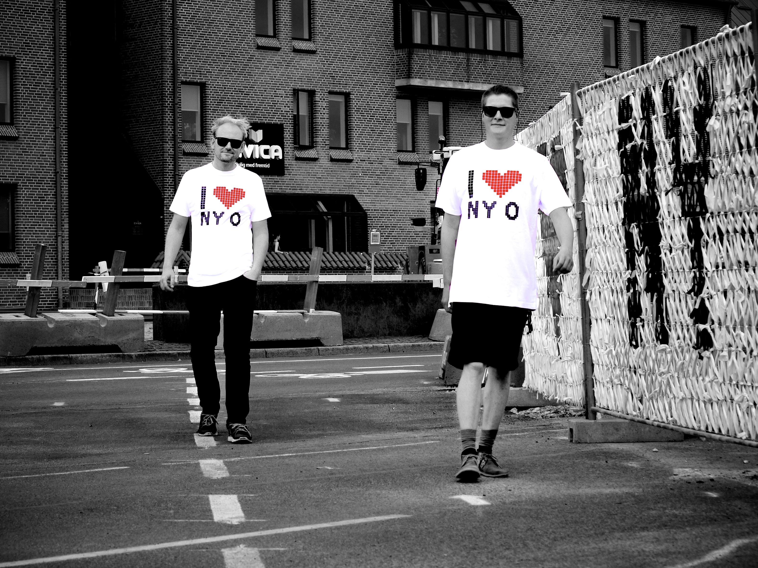 I LOVE NY O- T-shirt